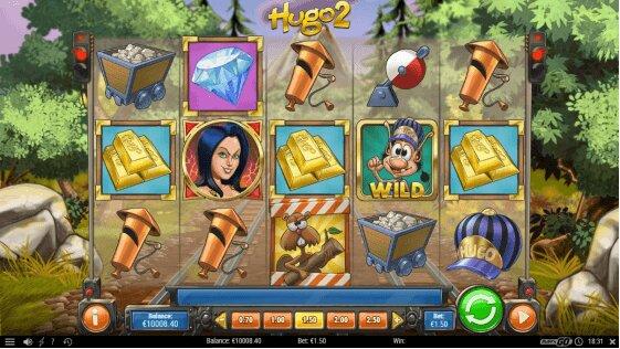 Hugo 2 Slot Game
