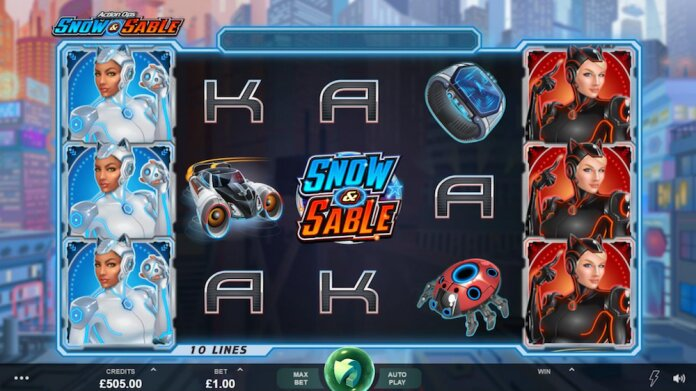 Action Ops Snow and Sable Slot Game