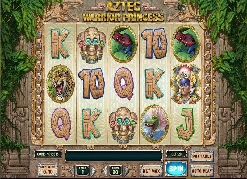 Aztec Warrior Princess Game