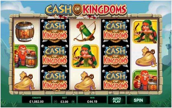 Cash of Kingdoms Game Slot