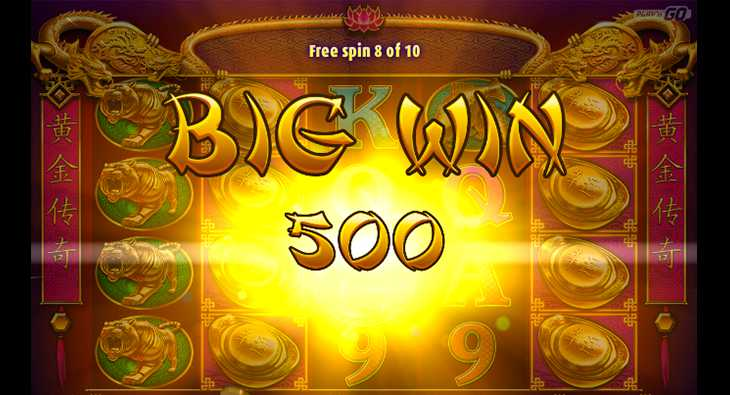 Golden Legend Slot Game