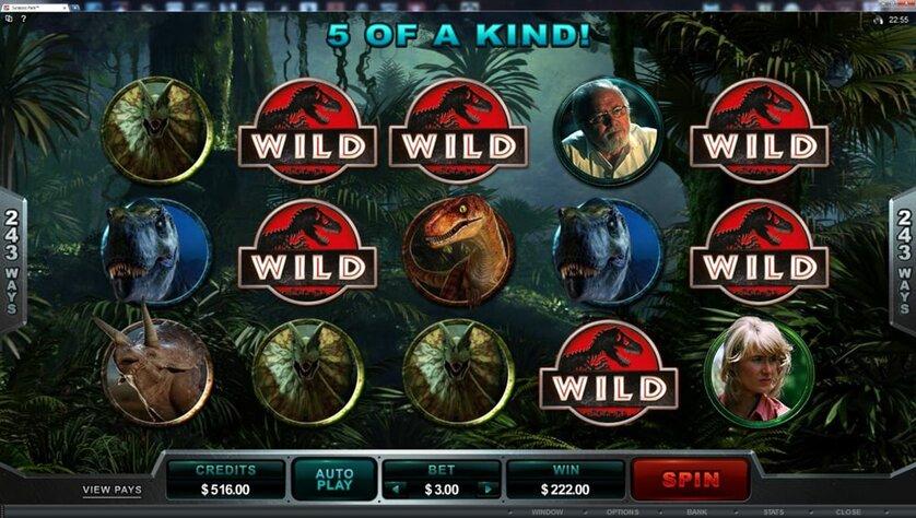 Jurassic Park Game Slot