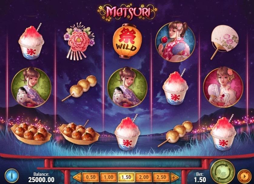 Matsuri Slot Game