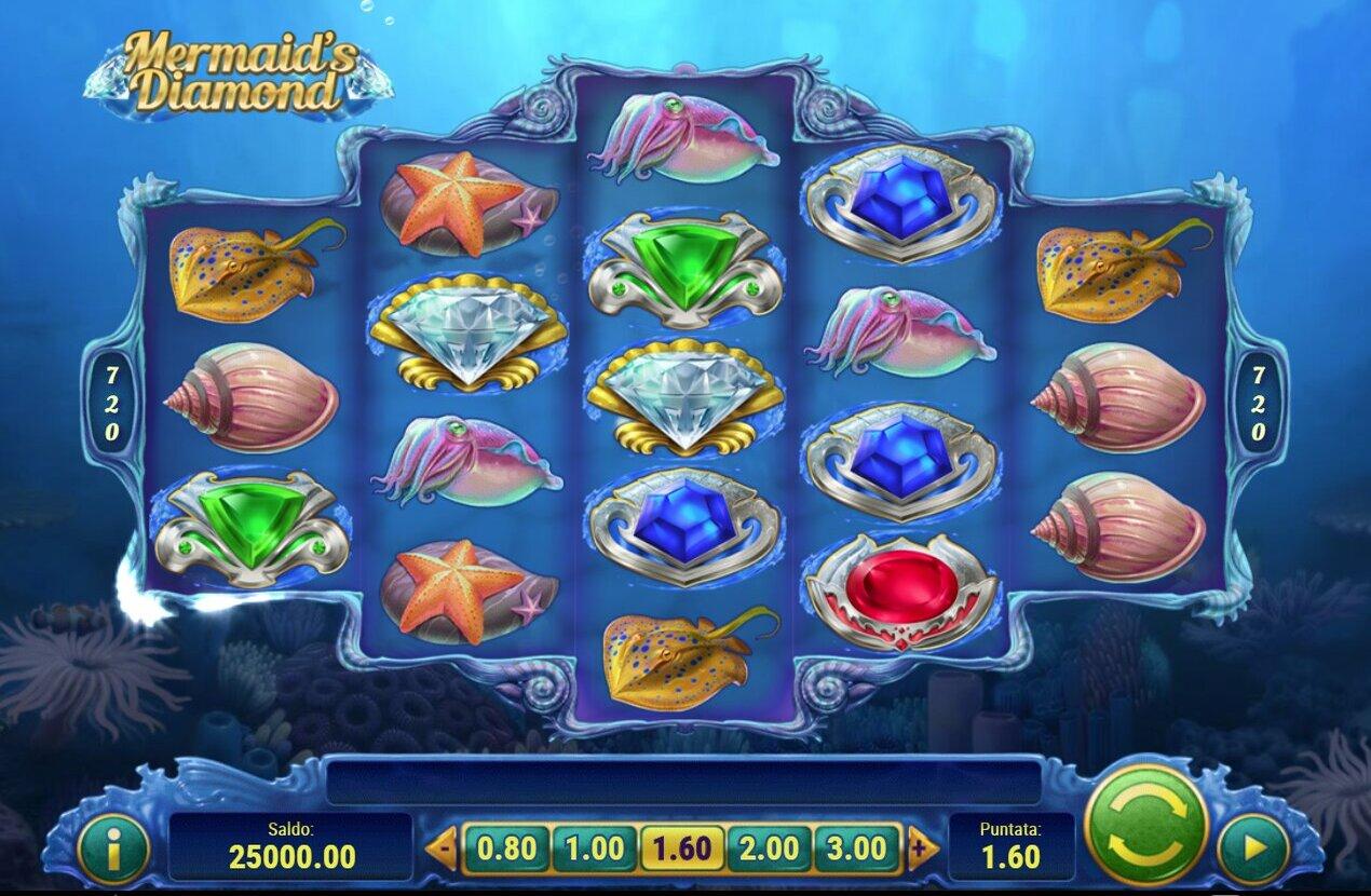 Mermaid's Diamond Slot Game