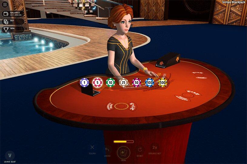 Sonya Blackjack Game