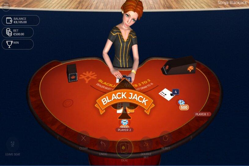 Sonya Blackjack Slot Game