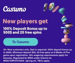 Casumo Banner