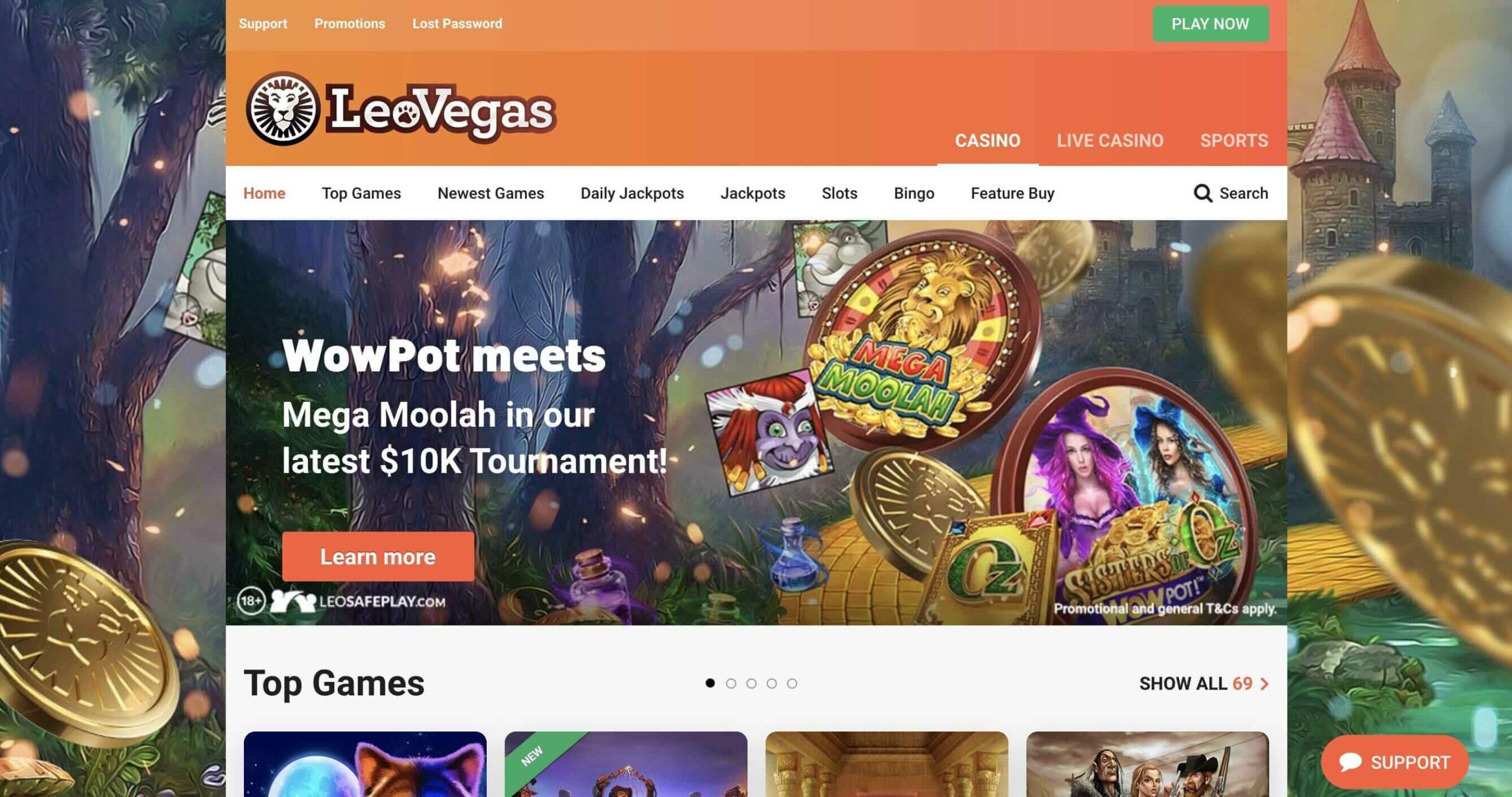LeoVegas Online