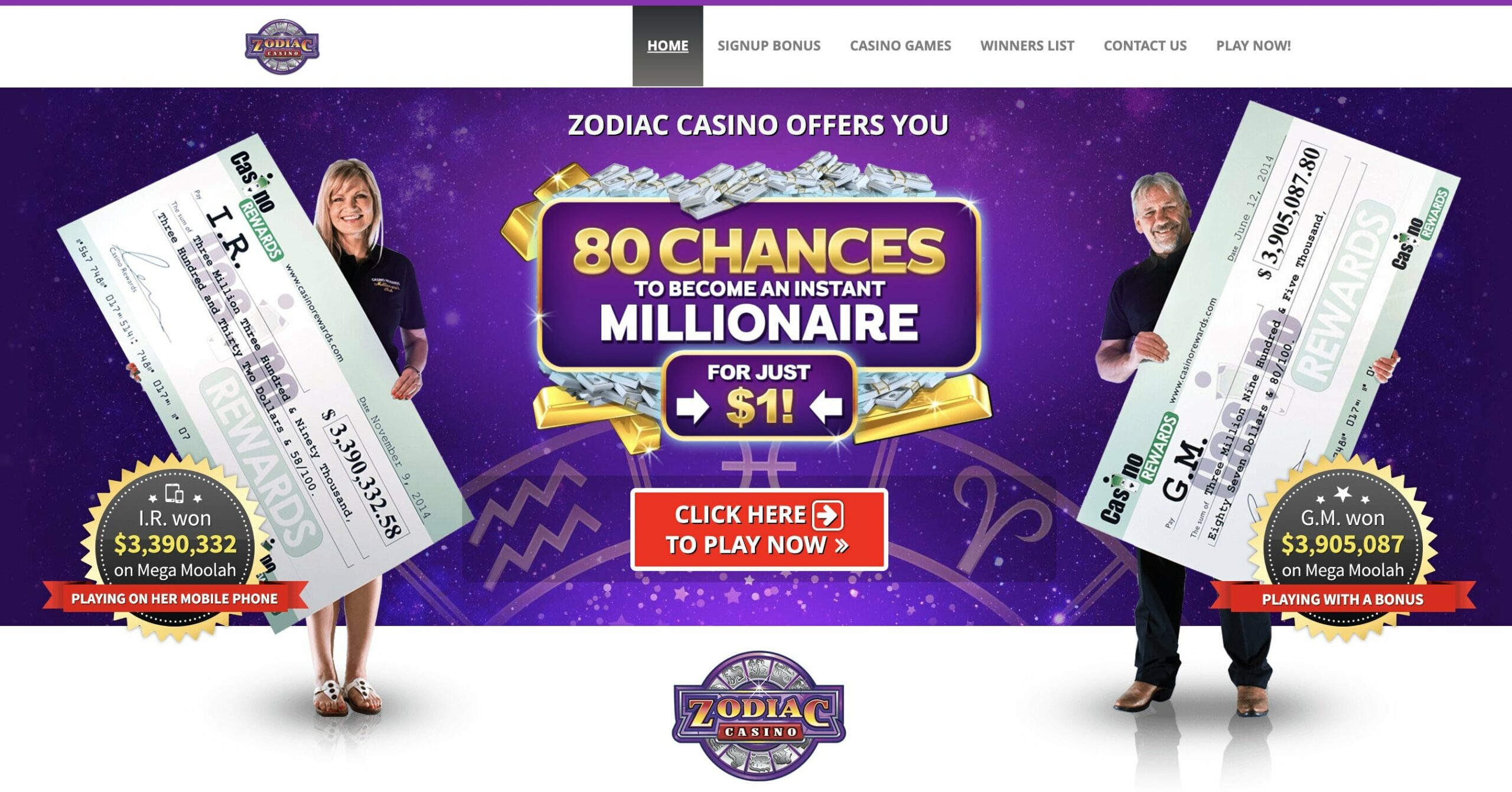 Zodiac Casino Canada Online