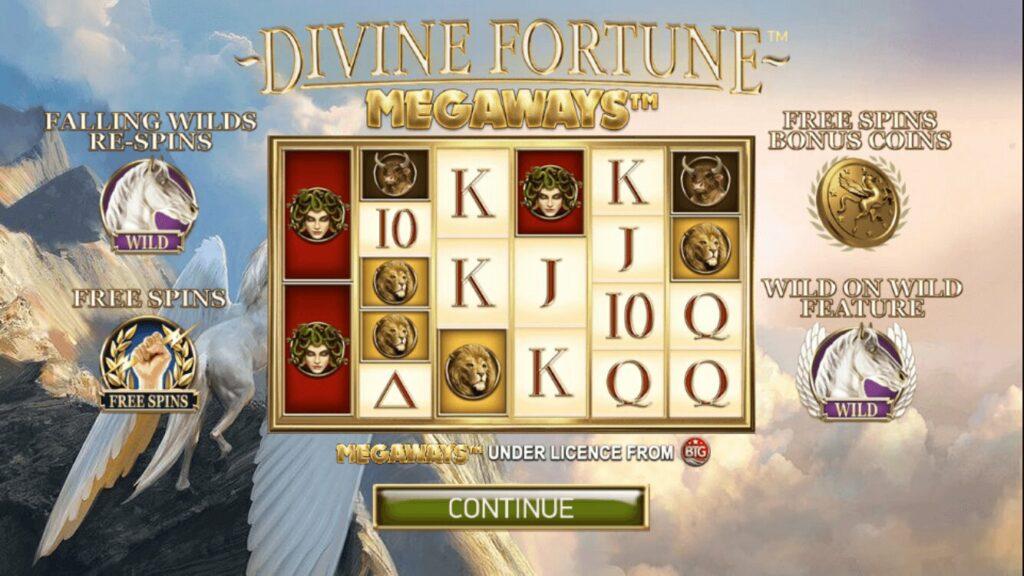 Divine Fortune Megaways Game